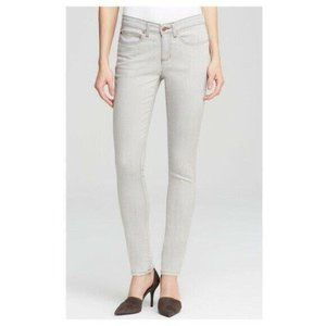 Eileen Fisher Jeans Skinny Sunbleached Gray 8P
